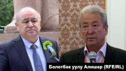 Омурбек Текебаев и Адахан Мадумаров.