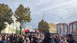 Suzavac na ulicama Severne Mitrovice