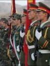 Tajik and Chinese troops take part in joint exercises in southern Tajikistan, near the border with Afghanistan. (file photo)