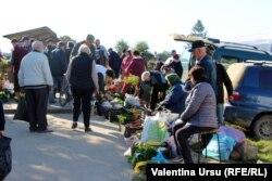 La piața din Leova