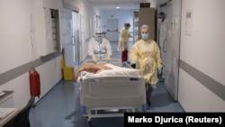 Ковидный госпиталь, иллюстрационное фото