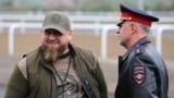 Рамзан Кадыров и Руслан Алханов