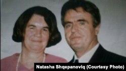 Prindërit e Natasha Shqepanoviq: Momqillo dhe Sretenka Pumpalloviq.