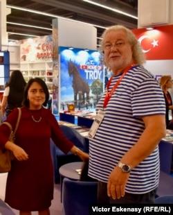 Irma Shiolasvili și editorul ei Traian Pop
