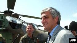 French Defense Minister Herve Morin