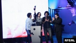 «Դորիանս» խումբը երաժշտական մրցանակաբաշխության ժամանակ, արխիվ