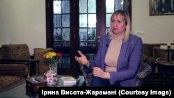Голова Громади українців у Лівані Ірина Висота-Жарамані