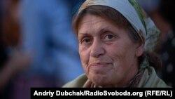Олександра, 66 років. 16 років без дому. Волонтерів спільноти давно знає і дуже поважає