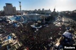 Інформаційний мітинг Майдану, Київ, 2 лютого 2014 року