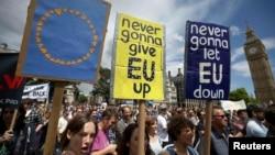 Ілюстраційне фото. Акція проти Брекзиту. Лондон, липень 2016 року