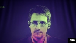 Former U.S. intelligence contractor Edward Snowden.