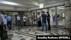 متروی باکو پس از قطع گسترده برق تعطیل شد