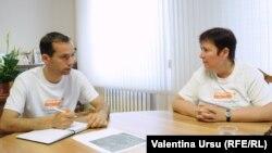 Valentina Ursu cu primarul Nicolae Dandiș