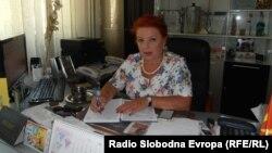 Марина Алексовска, директорна на детска градинка во Куманово.