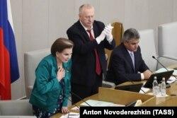Первое заседание Госдумы нового созыва, 12 октября 2021 года