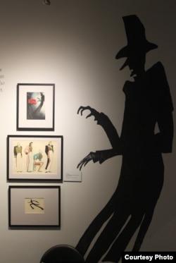 На выставке Е. Шварца в Трубниках