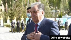 Тажикстандын президенти Эмомали Рахмон