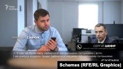 «Схеми» поспілкувалися з першим помічником президента Зеленського Сергієм Шефіром по телефону