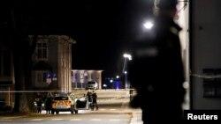 Поліція на місці нападу