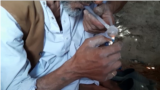 Afghanistan - drug users in Nimroz Province, where rehab centers have shut down - heroin opium opiates - screen grab