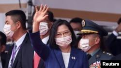 Президент Тайваня Цай Инвэнь, 10 октября 2021 года