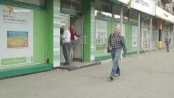 Как бывшие крымчане «выбивают» деньги из крымских банков (видео)