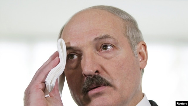 Belarusian President Alyaksandr Lukashenka appears to be losing control of the country's propaganda apparatus.