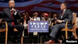 Donald Trump və general Michael Flynn, 6 Sent., 2016