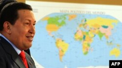 President Hugo Chavez had challenged the United States to cut diplomatic links with Venezuela in response to Chavez's rejection of the U.S. envoy.