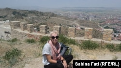 Sabina Fati pe cetate, Afyon, Turcia, 2021.