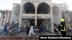 На місці нападу в Кабулі, 25 серпня 2017 року