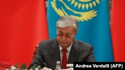 Қосимҷомарт Тоқаев, президенти Қазоқистон