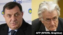 Milorad Dodik dhe Radovan Karaxhiq