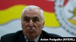 South Ossetia's leader Leonid Tibilov