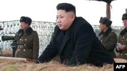 Түндүк Корея лидери Ким Чен Ын.