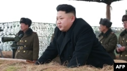 North Korean leader Kim Jong Un (file photo)