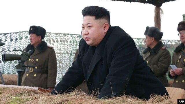 North Korean leader Kim Jong Un (file photo)