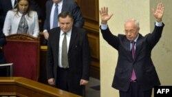 Микола Азаров сьогодні в парламенті