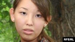 Айгерим Джакишева, дочь Мухтара Джакишева. Алматы, 12 июня 2009 года.