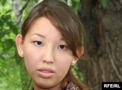 Айгерим Джакишева, дочь осужденного бывшего топ-менеджера Мухтара Джакишева.