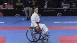 Львів'янка стала чемпіонкою світу з карате для людей із інвалідністю (відео)