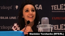 Джамала после победы на «Евровидении».
