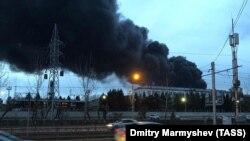 """Пожежа на заводі """"Красмаш"""" у Красноярську"""