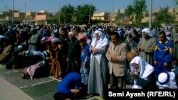 صلاة جمعة موحدة في بعقوبة(من الارشيف)