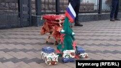 «Putinniñ Qırımda hırsızlanğan insanlar aqqında dünya masalları» aktsiyası