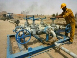 Oil field in Kirkuk