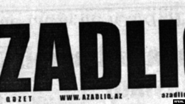 Azerbaijan – Newspaper/Azadliq