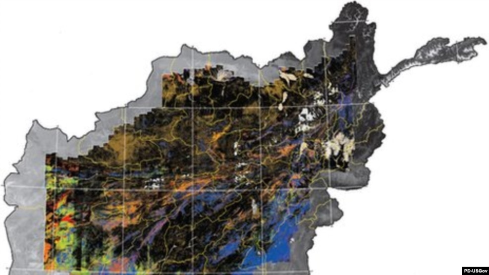 The U.S. Geographical Survey has now mapped some 70 percent of Afghanistan's mineral wealth.
