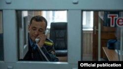Сотрудник милиции в Кыргызстане. Иллюстративное фото.