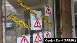 """Plakati predstavljaju """"crtanje meta"""" na leđima, kažu nevladini aktivisti"""
